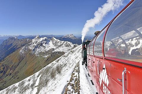 Grand Train Tour of Switzerland - Herbst - Biken und Wandern